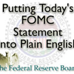 Today's FOMC Statement Simplified