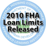 2010 FHA Loan Limits Show No Change from 2009