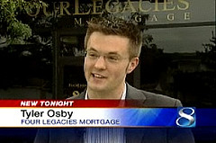 Tyler Osby on KCCI discussing the Fed's bailout of Fannie and Freddie